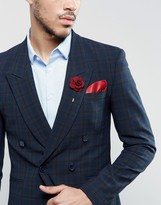 Devils Advocate Sherry Pocket Square And Pin