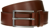Hugo Boss Hugo By Hugo Boss C-grigio Leather Belt, Brown
