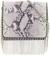 Just Cavalli snake effect crossbody bag
