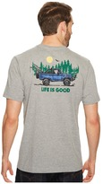 Life is Good ATV Pocket Crusher Tee Men's Short Sleeve Pullover