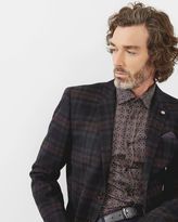 PACINO Tartan checked wool jacket