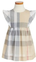 Burberry Toddler Girl's Gertrude Plaid Dress
