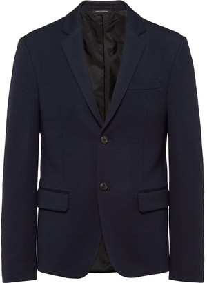Prada Single Breasted Collared Jacket