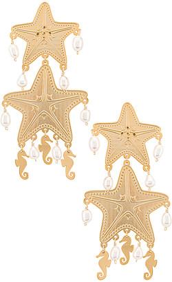 Mercedes Salazar Isla Starfish Earring