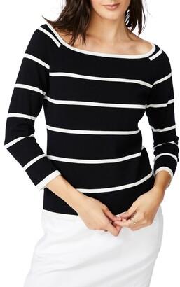 Court & Rowe Stripe Jersey Sweater