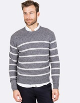 Blazer Jordan Stripe Crew Neck Knit