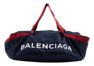 Balenciaga Wheel Navy Synthetic Handbags