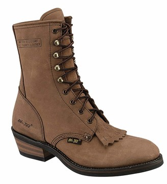 "AdTec Ad Tec Women's 8"" Packer Brown Work Boot (Brown 8)"