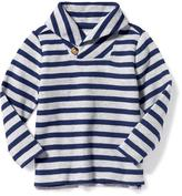Old Navy Striped Toggle Pullover for Toddler Boys