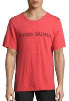 Pierre Balmain Short Sleeve Graphic Tee