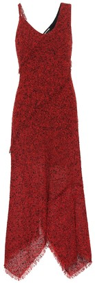 Roland Mouret Amargo wool-blend midi dress