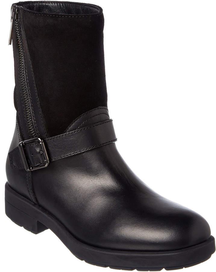 Aquatalia Laura Waterproof Leather & Suede Boot