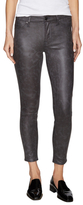7 For All Mankind Coated Printed Skinny Jean