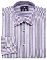 STAFFORD Stafford Travel Long-Sleeve Easy-Care Broadcloth Dress Shirt