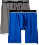 Champion Tech Performance Men?s 2-pack Long Leg Boxer Briefs, S
