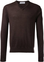 Cerruti V-neck top - men - Wool - S