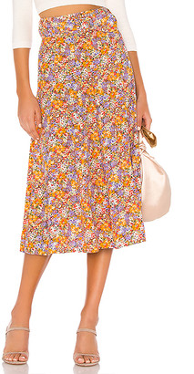 Faithfull The Brand Luda Midi Skirt