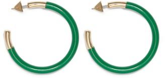 Vince Camuto Enamel Hoop Earrings