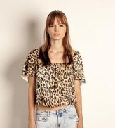 Merritt Charles Harlow Blouse - Leopard