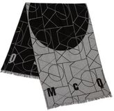 McQ by Alexander McQueen Geometric Print Angle Scarf