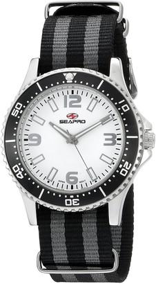 Seapro Women's SP5417NBK Analog Display Quartz Two Tone Watch