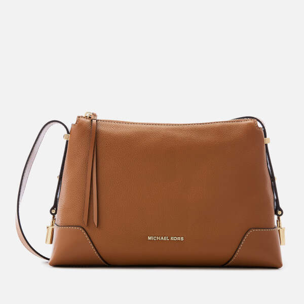 ca8d3d8edd76 MICHAEL Michael Kors Brown Tan Leather Bags For Women - ShopStyle UK
