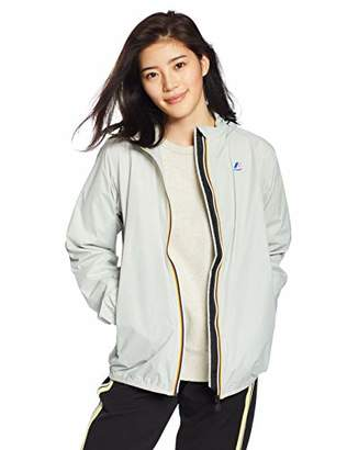 K-Way Women's Claudette Trenchcoat Long Sleeve Jacket,X-Small (Manufacturer Size:9)