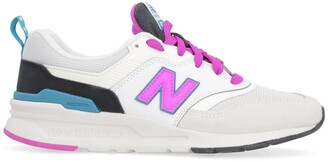 New Balance 997 Suede And Mesh Sneakers