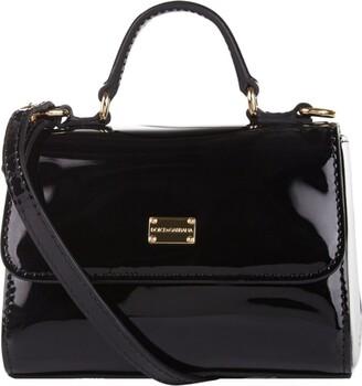 Dolce & Gabbana Patent Leather Shoulder Bag
