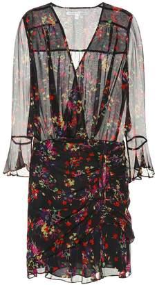 Veronica Beard Sean floral silk dress