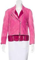 3.1 Phillip Lim Notched Lapel Leather Jacket
