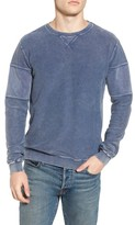 RVCA Men's Distressed Sweatshirt