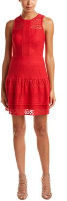 Parker Eyelet Lace Combo A-Line Dress