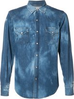 Saint Laurent faded shirt