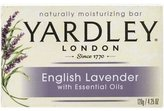 Yardley London Bar Soap with Essential Oils, English Lavender, 6 Count by