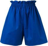 Fendi wide leg shorts - women - Cotton - 38