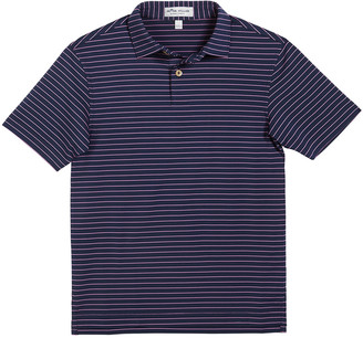 Peter Millar Boy's Crafty Stripe Polo Shirt, Size XXS-XL