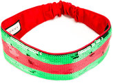 Gucci sequin Web headband - women - Silk/Polyester - One Size