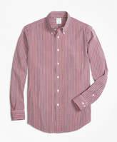 Brooks Brothers Regent Fit Check Seersucker Sport Shirt
