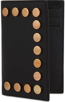 Givenchy Copper Studded Leather Card Holder