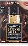 L'Oreal Superior Preference Mousse Absolue, 425 Dark Mahogany Brown