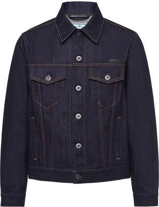 Prada Selvedge denim blouson jacket