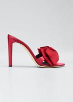 Giuseppe Zanotti 105mm Ricoperto Satin Bow Sandals