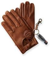 Men's Italian Leather Driving Gloves