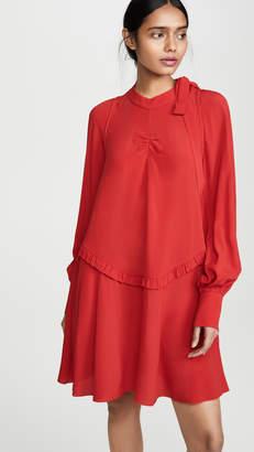 No.21 No. 21 Long Sleeve Mini Dress