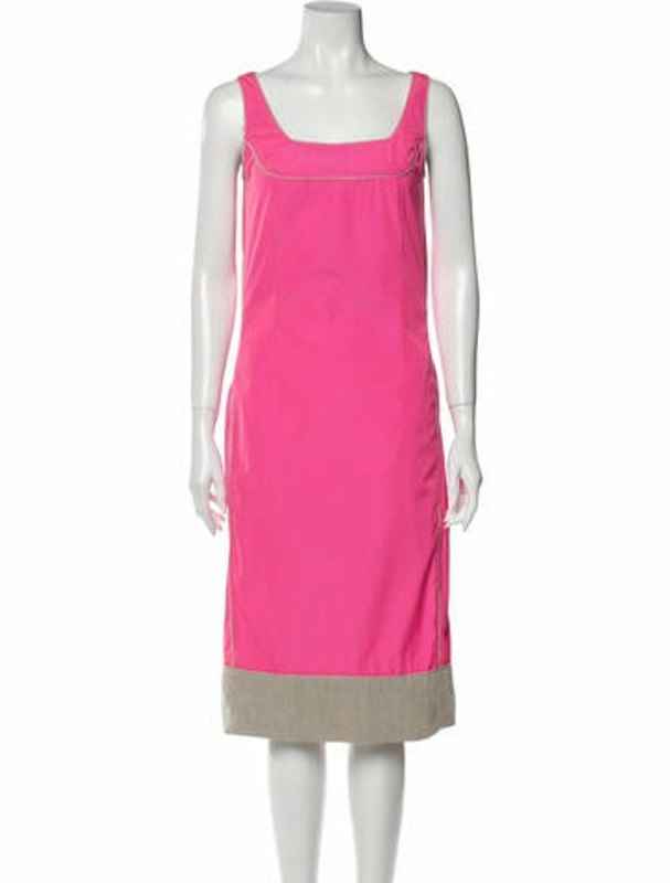 Narciso Rodriguez 2012 Midi Length Dress Pink