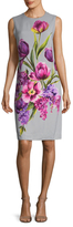 Dolce & Gabbana Floral Graphic Dress