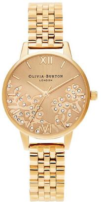 Olivia Burton Ob16Mv105 Bejewelled Lace Gold Bracelet