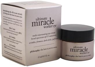 philosophy Unisex .5Oz Ultimate Miracle Worker Eye Cream Spf 15