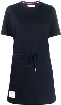 Thom Browne drawstring waist T-shirt dress